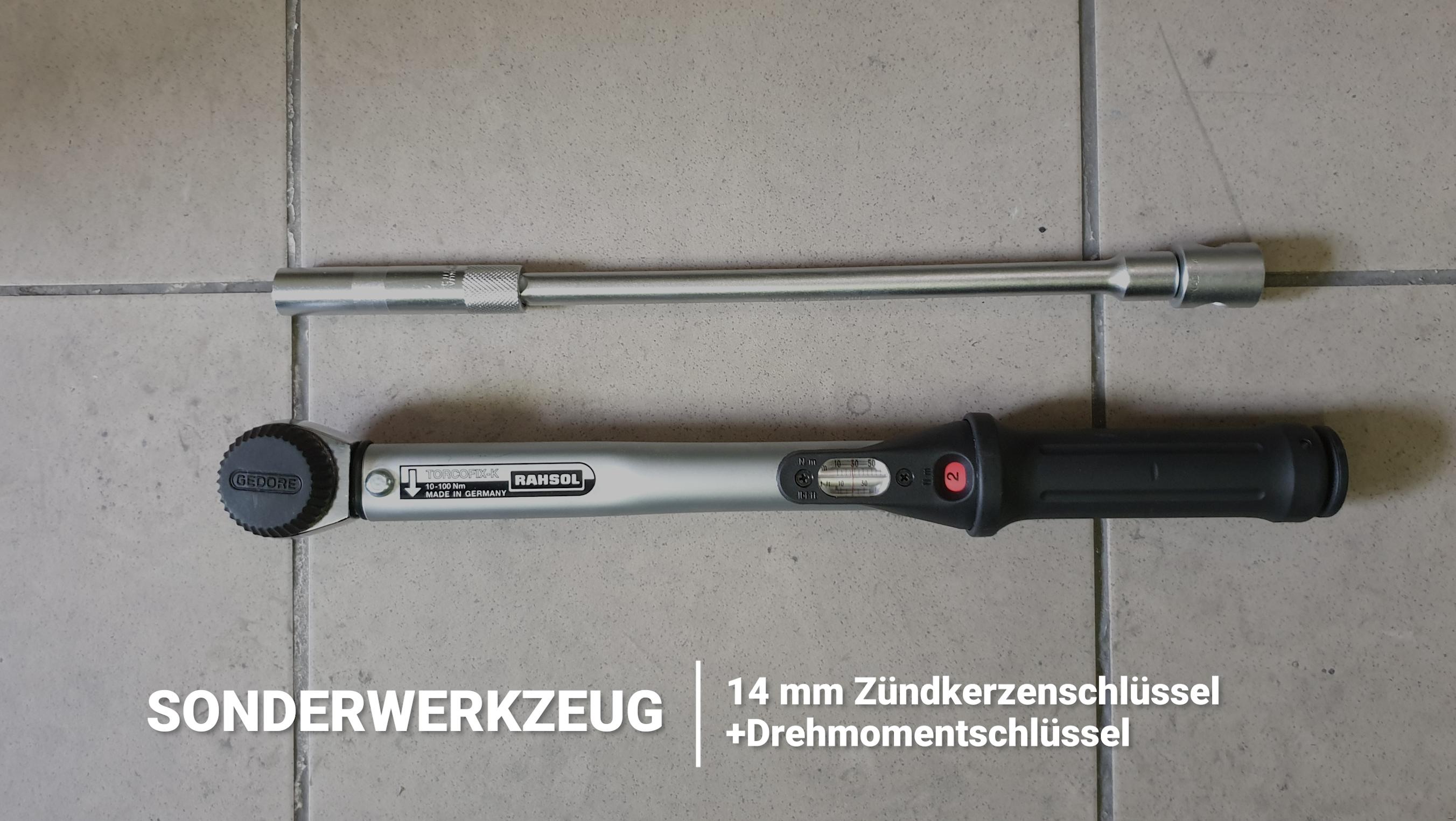 BMW N54 Werkzeug Zündkerze