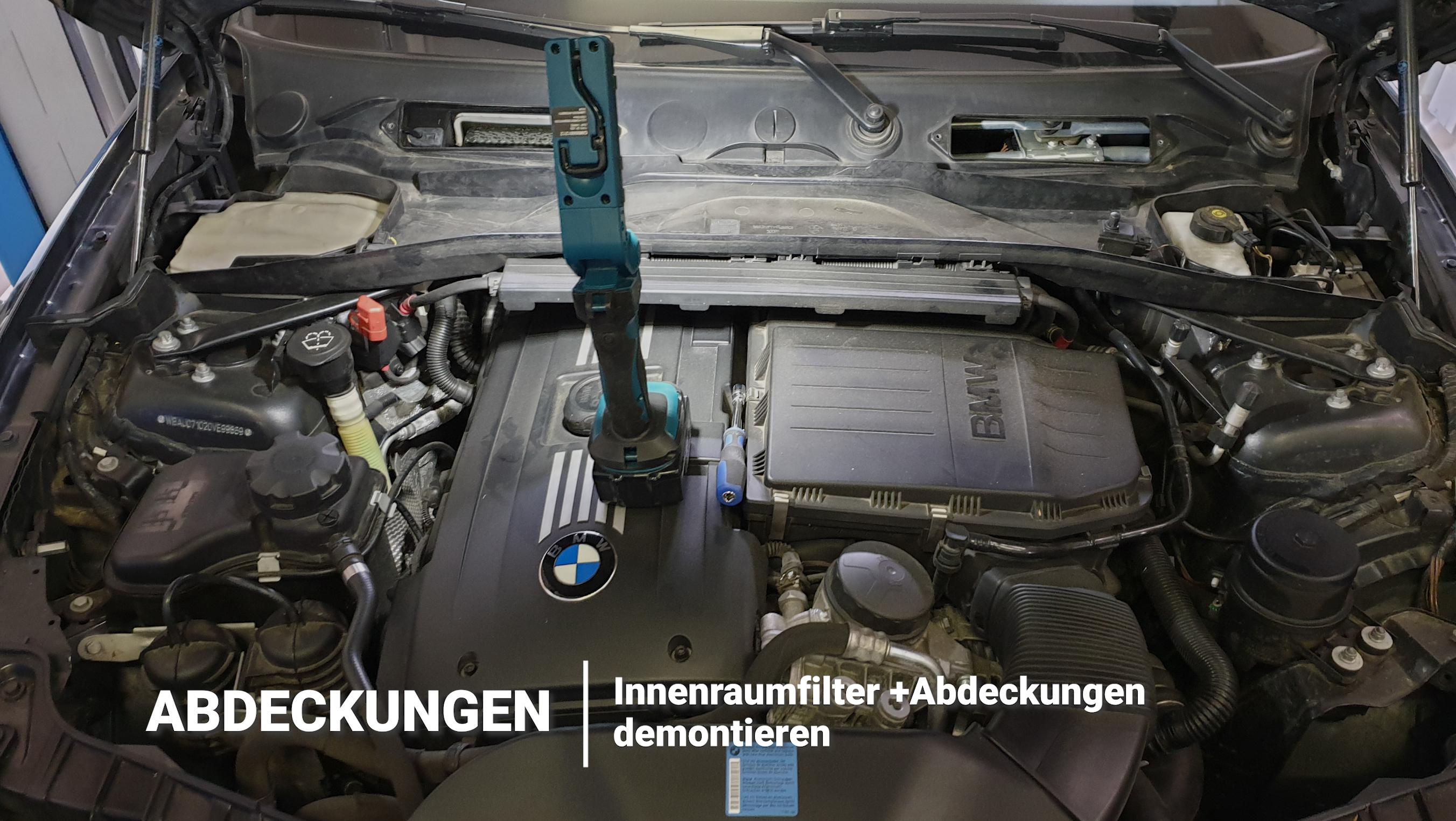 Motorraum BMW N54