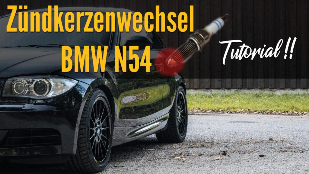 Blogartikel Zündkerzenwechsel BMW N54