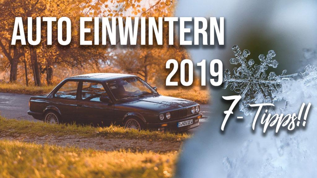Titelbild Blogartikel Auto Einwintern 2019