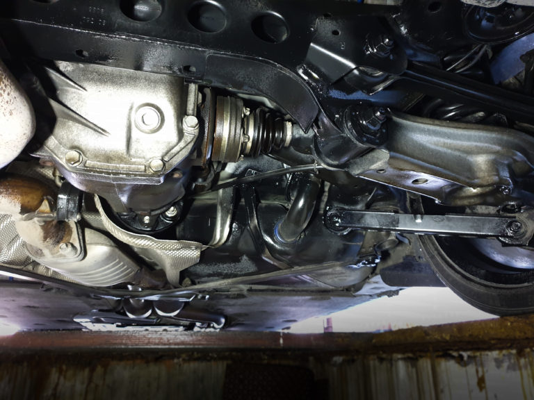 Unterboden konservieren mit S100 BMW 135i