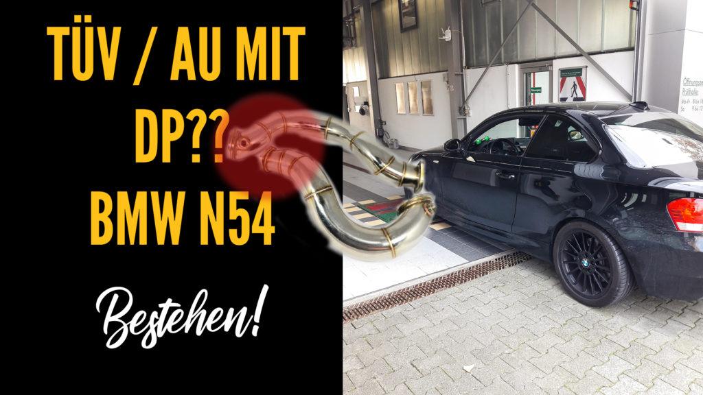 Titelbild BMW AU mit Downpipe bestehen