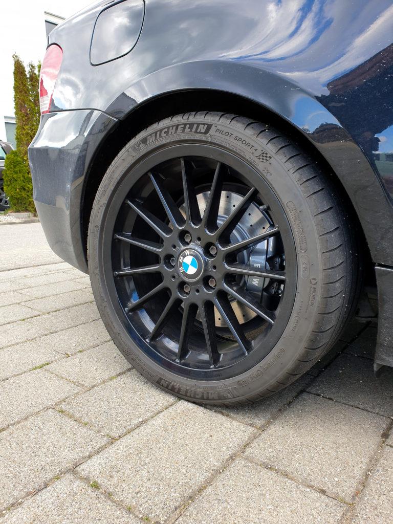 Blogartikel BMW 135i Zimmermann Bremse gelocht